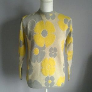 Vintage Jack Winter Flower Sweater